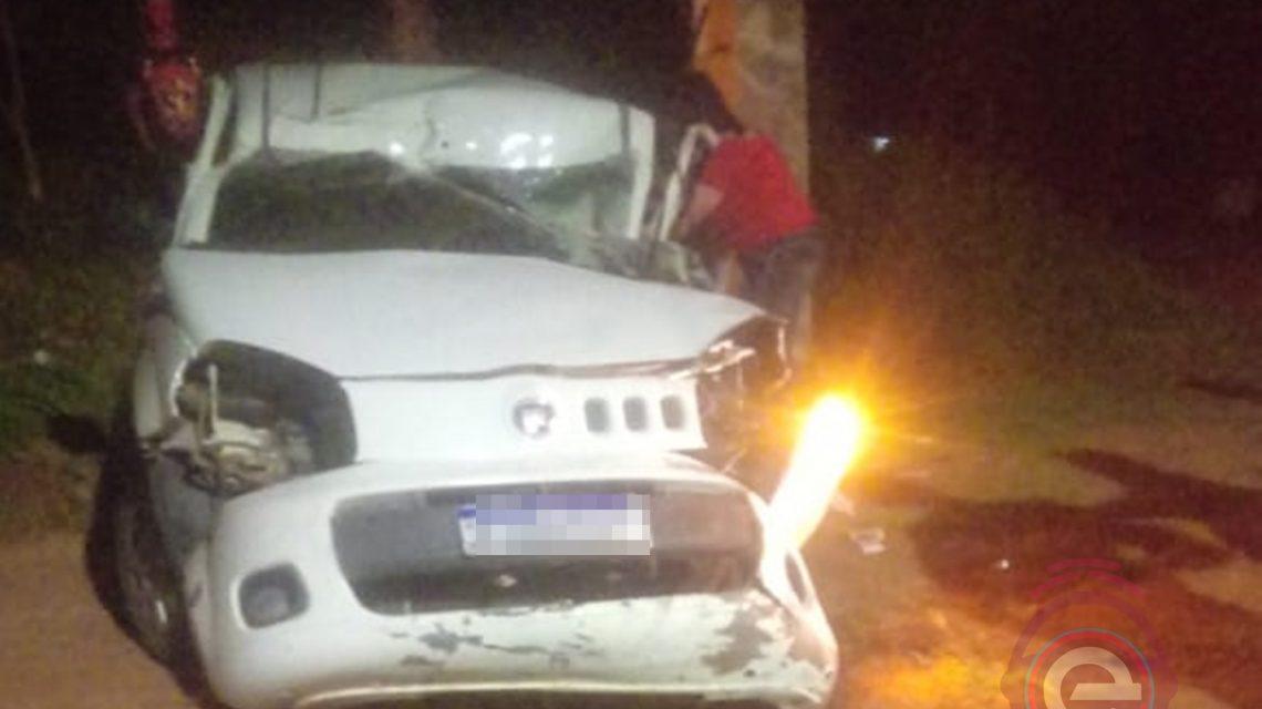 Acidente na PR-662 em Foz do Jordão deixa uma vítima fatal e outras três gravemente feridas