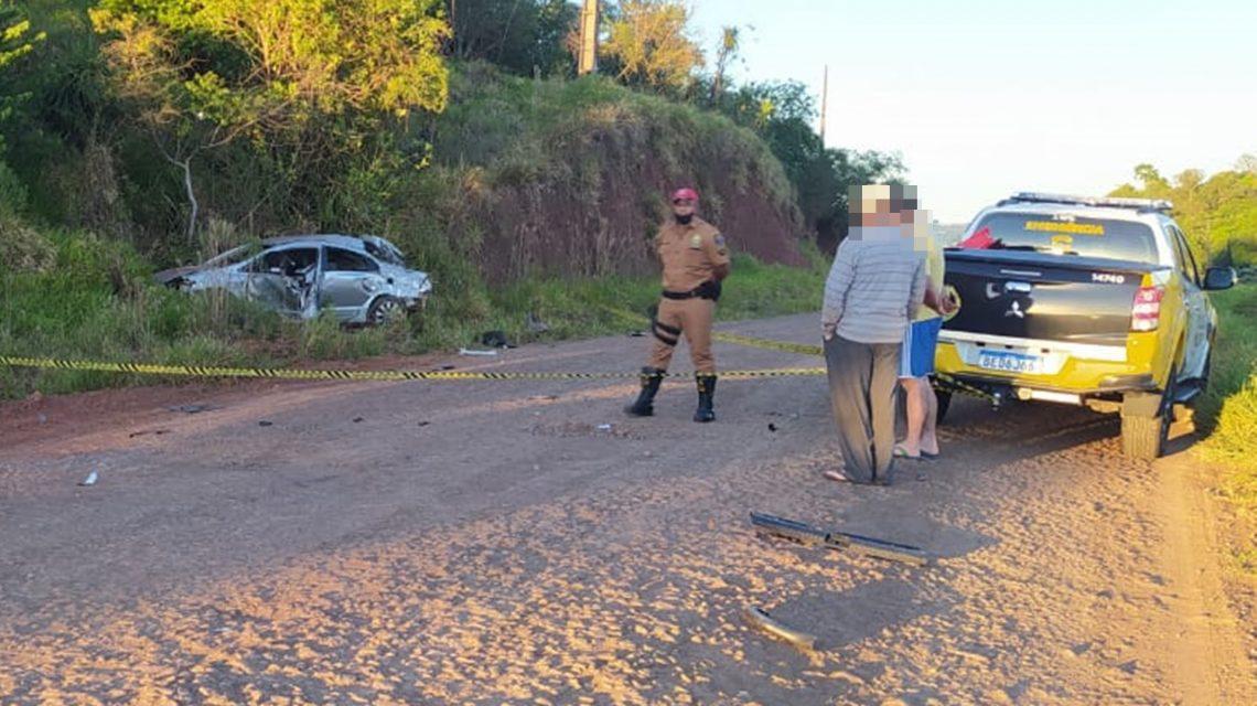 Rapaz de 23 anos morre vítima de acidente na PR-280, em Marmeleiro