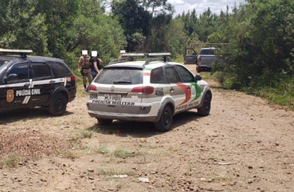 Caminhonete furtada em General Carneiro é localizada em Ponte Serrada