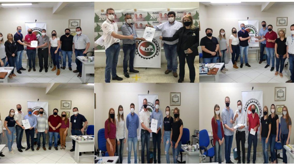 Associação do Engenheiros de Palmas apresenta demandas da categoria aos candidatos a prefeito