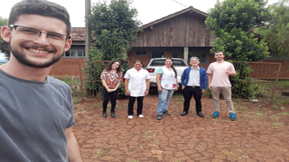 Unioeste realiza projeto de saúde em áreas rurais de Francisco Beltrão