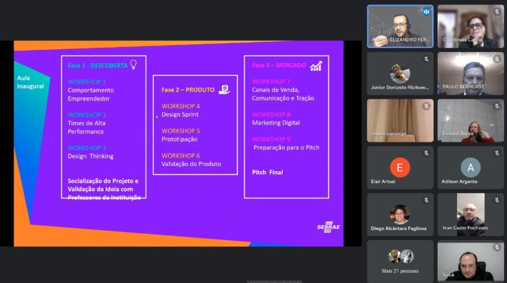 [Grupo RBJ de Comunicação] Parceria entre FAMA e SEBRAE visa criação de startups por estudantes